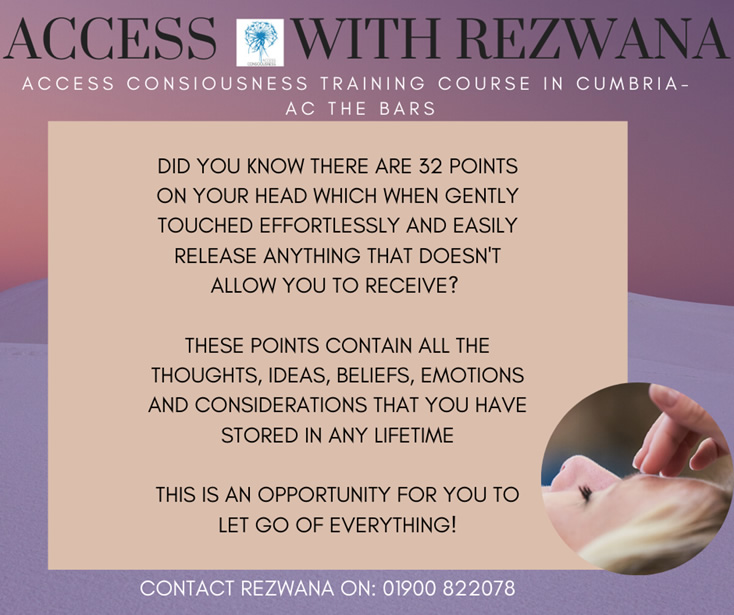 Access Consciousness Training with Rezwana